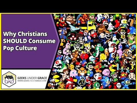 Christians SHOULD Consume Pop Culture