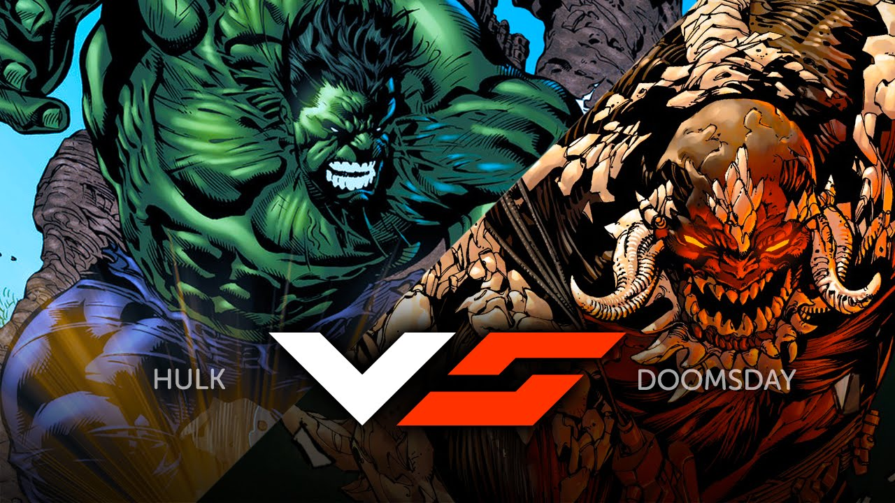 GeekTyrant VS - Hulk Vs Doomsday - YouTubeDoomsday Vs Hulk