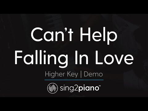 Can't Help Falling In Love (Higher Key - Piano Karaoke Demo) Haley Reinhart