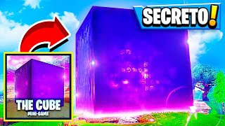 Fortnite: * NEW * MINI SECRET GAME of the CUSTOM CUBE!! BASHFUL