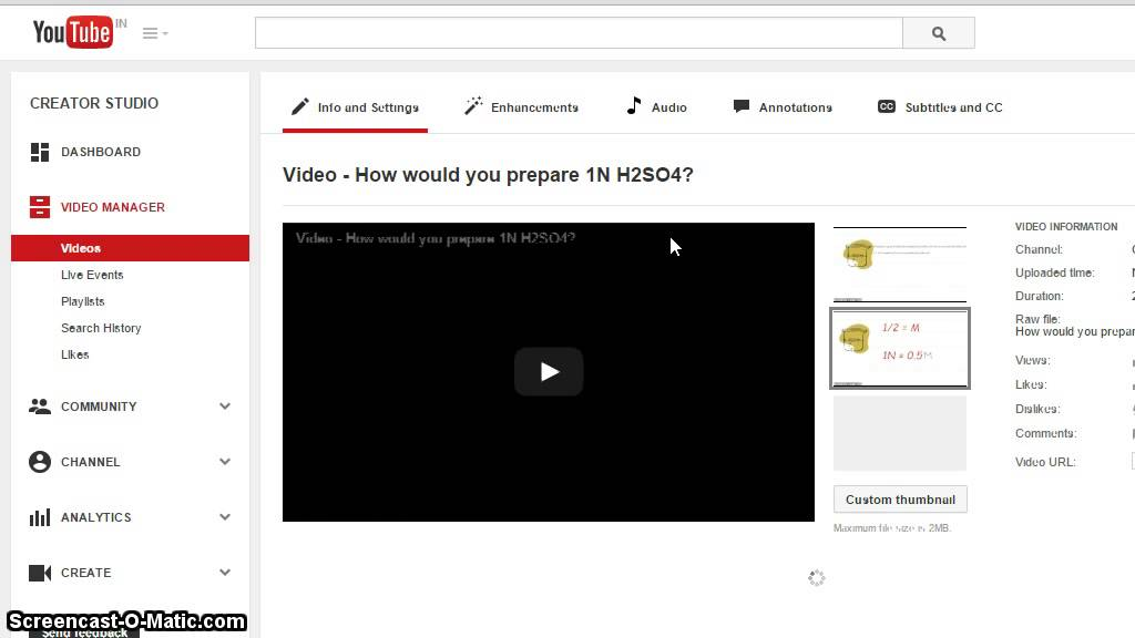Video - How to hide number of views of my Youtube videos from visitors