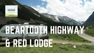 Ep. 45: Beartooth Higнway & Red Lodge | RV travel Montana camping