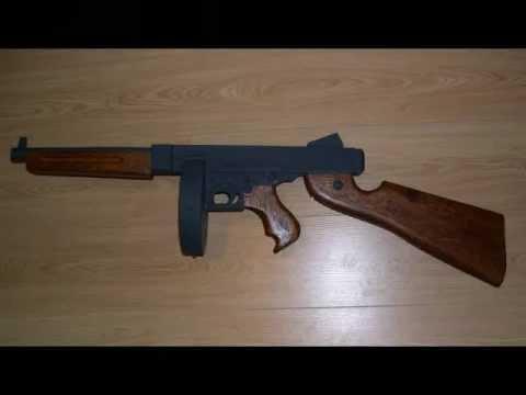 Wooden Tommy Gun Youtube