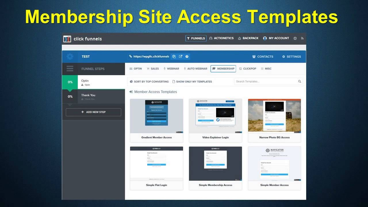 Try A ClickFunnels Free Trial