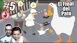 El Pato Loco se Roba la Campana | Untitled Goose Game 5 | Juegos Karim Juega