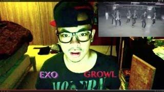 EXO - GROWL MV REACTION! (KOREAN VERSION)