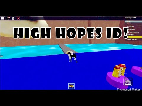 high hopes song id roblox