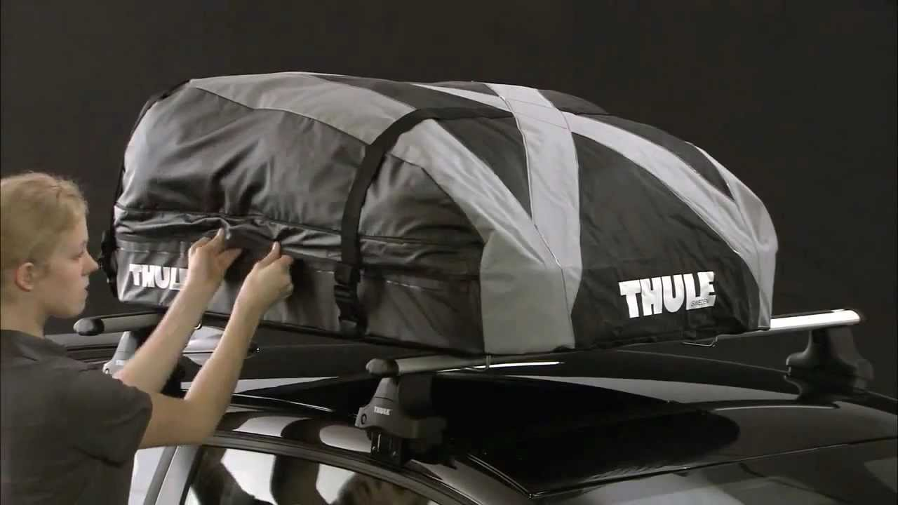 thule ranger 90 roof box fitting guide youtube. Black Bedroom Furniture Sets. Home Design Ideas