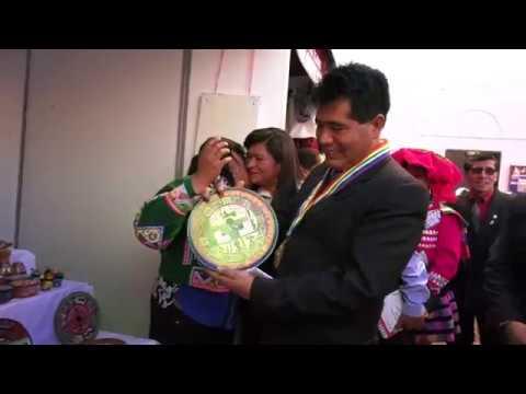 INAUGURACIÓN DELA VI FERIA NACIONAL DE ARTESANÍA, SANTIAGO PARA EL MUNDO