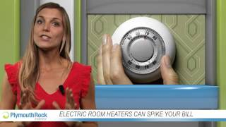 Electric room heaters can spike your bill