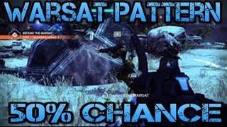Destiny: Warsat Pattern | 50% To Summon Warsats Faster (Sleeper Simulant Quest) Read Description!