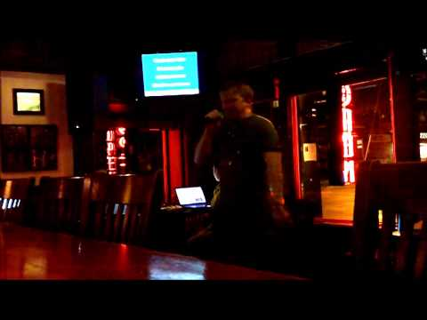 "Patman - Hoobastank ""Out of Control"" karaoke @ Grandview Cafe"