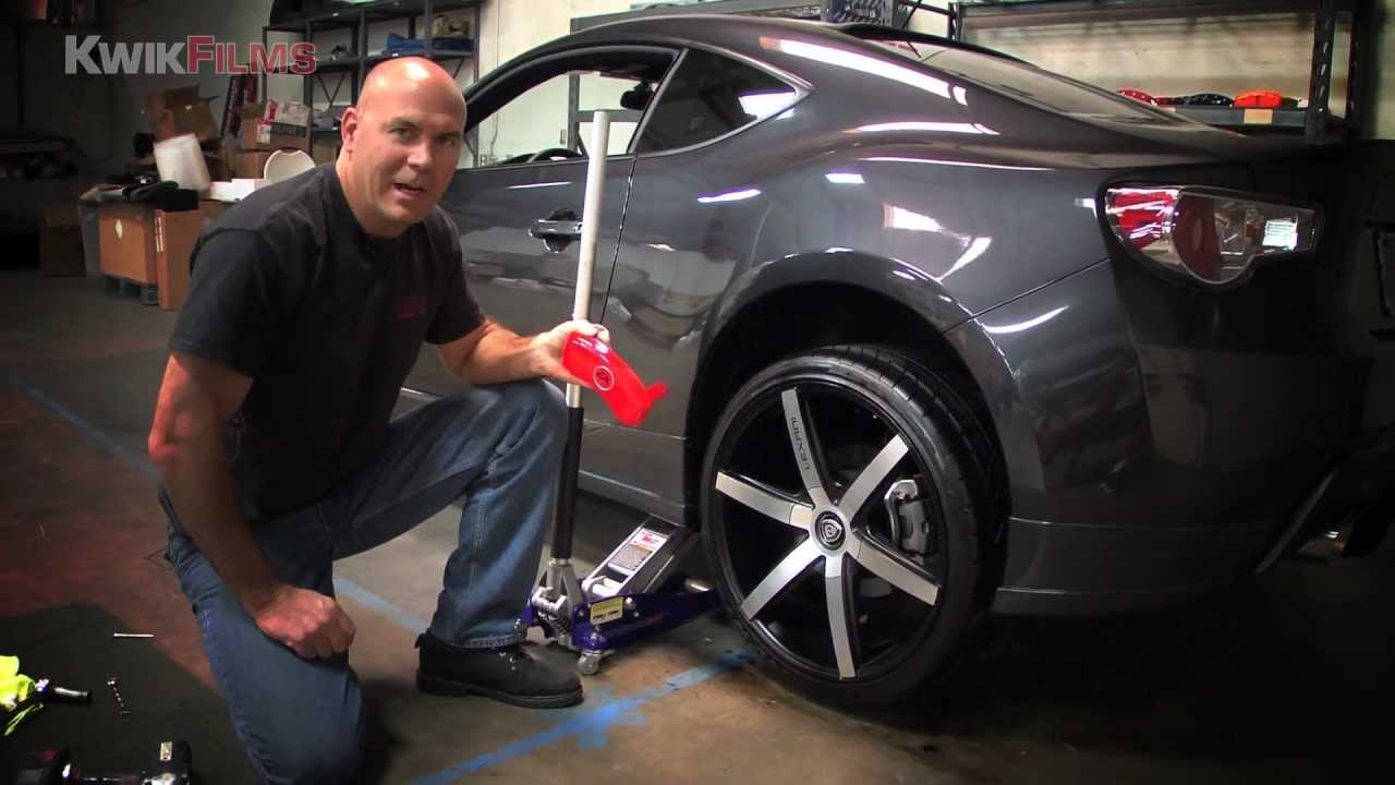 Scion Fr S Mgp Caliper Covers Installation Youtube