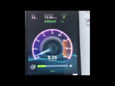 Don't buy a sim in Dubai without watching this. Speed test Virgin Mobile UAE, Du & Etisalat