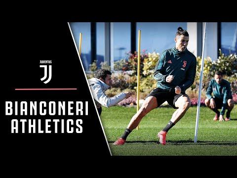 juventus-athletics-training-|-bianconeri-prep-for-verona