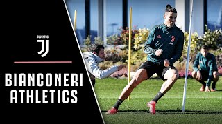 JUVENTUS ATHLETICS TRAINING | BIANCONERI PREP FOR VERONA