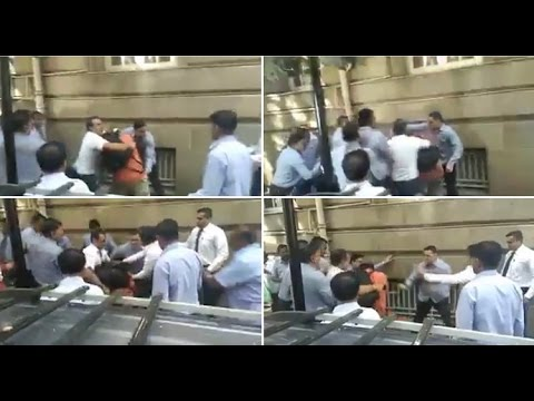 Security Staff Assaults Journalists Outside Tata Sons HQ, Bombay House