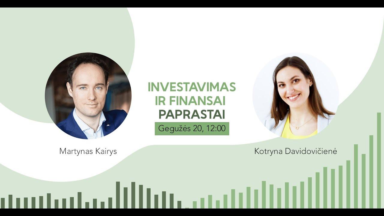 Investavimas ir finansai paprastai (video)