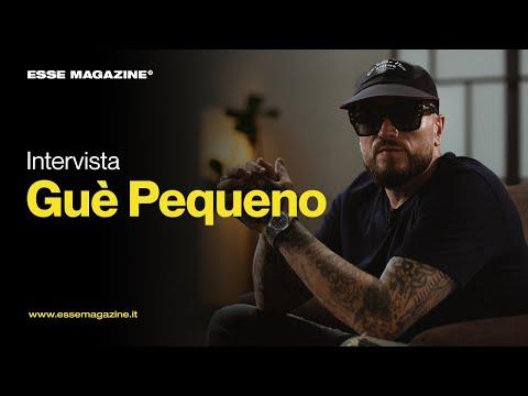 "Gué Pequeno racconta ""Mr. Fini"" ad Antonio Dikele Distefano | ESSE MAGAZINE"