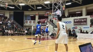 Notre Dame High School (CT) tops Archbishop Molloy (NY) boys basketball at Hoophall Classic