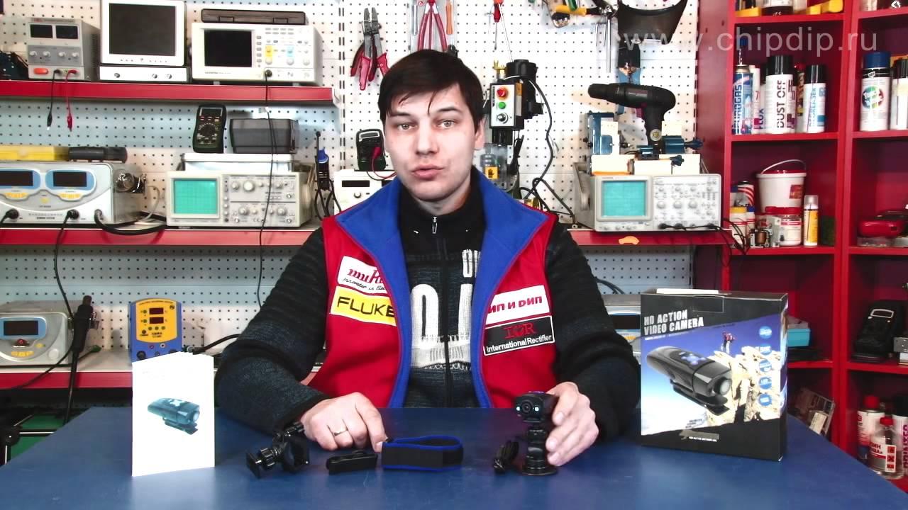 Видеорегистратор для мотоцикла. Съемка в движении