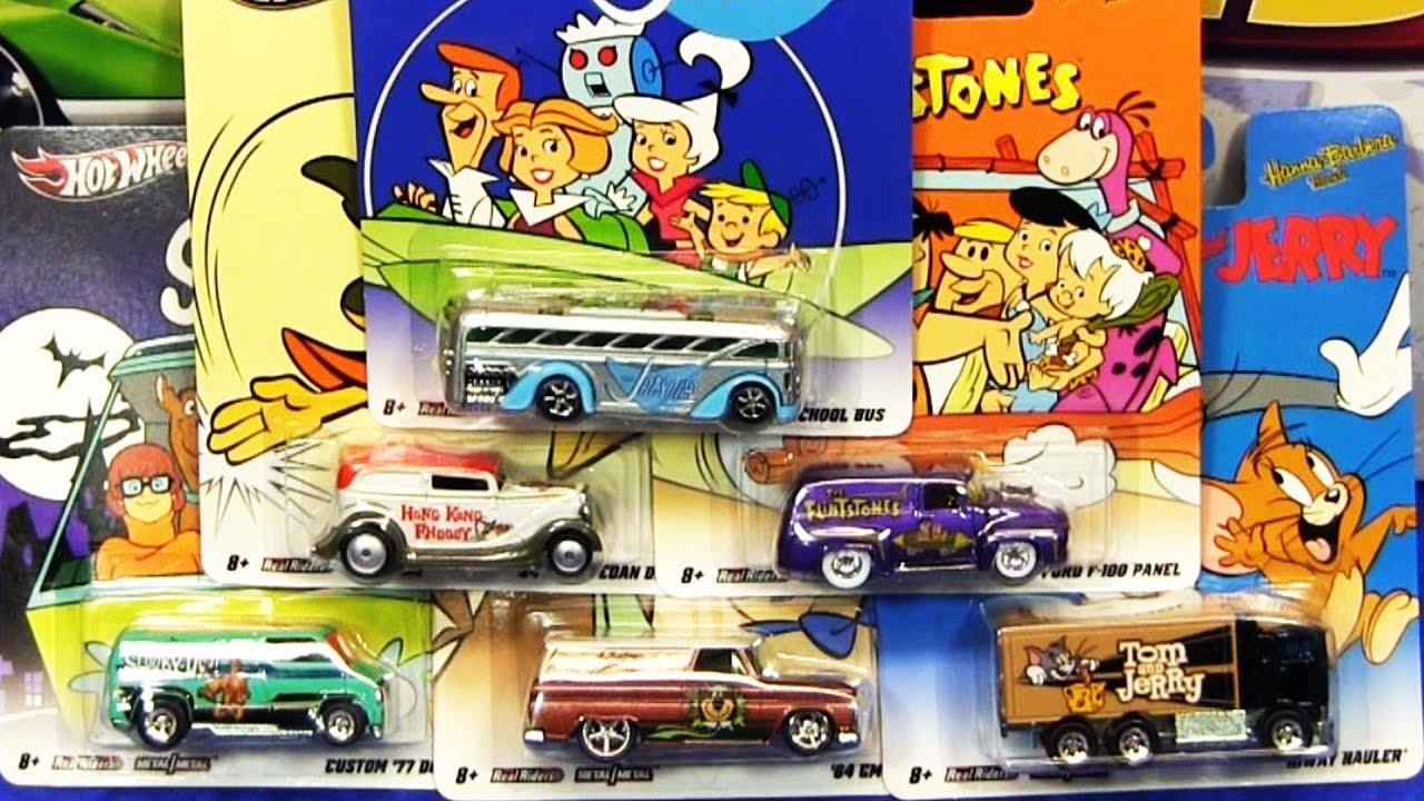 2012 hot wheels nostalgia hanna barbera diecast cars by mattel c case youtube - Hot Wheels Cars 2012