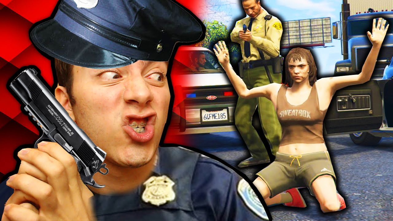 Gta 5 Polis Olma Modu Youtube
