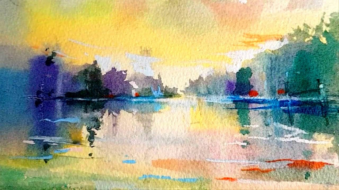 Water Color Painting Images