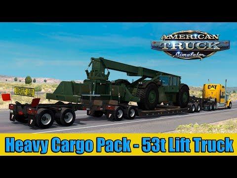 ATS Heavy Cargo Pack - 53t Lift Truck