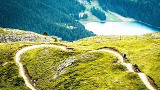 Tom Oehler's MTB Trail Guide E4: Corviglia, Switzerland