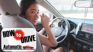 How To Drive An Automatic Car - Step by Step Tutorial For Beginners