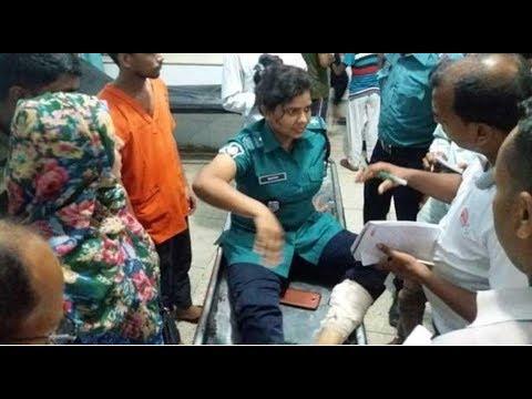 এইমাত্র পাওয়া: পুলিশের গাড়িতে ককটেল নিক্ষেপ, এএসআইসহ আহত ২ | Somoy TV Live