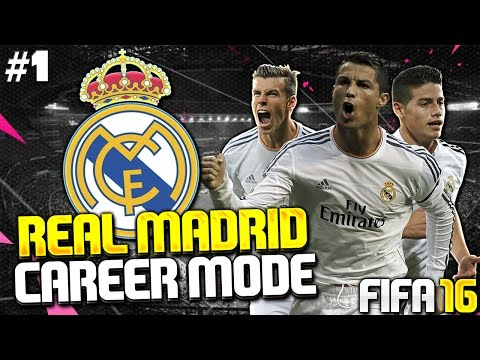 FIFA 16 Real Madrid Career Mode #1 - LET'S BUILD BEST TEAM IN THE WORLD! TRANSFERS & 1ST GAME!