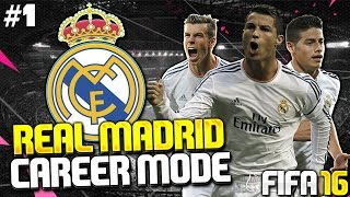 FIFA 16 Real Madrid Career Mode #1 - LET