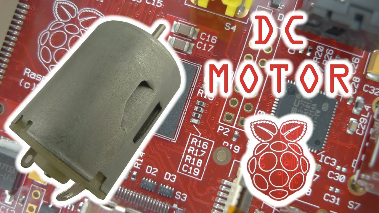 Controlling a DC Motor with the Raspberry Pi on