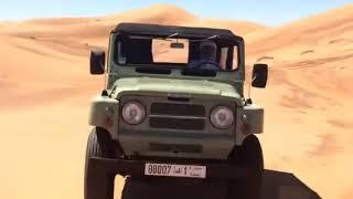 Sheikh Hamad Bin Hamdan Al Nahyan Nissan patrol