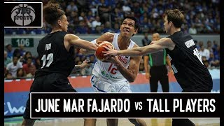 June Mar Fajardo Highlights vs Tall Players