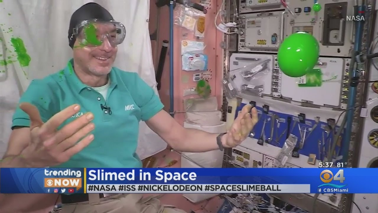 Trending Now: Slimed In Space - CBS Miami