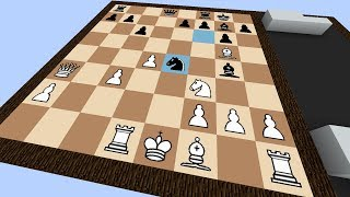 Working Chess in Minecraft! (No AI/Computer ... Yet)