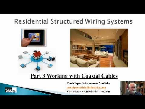 Residential Structuring Wiring Systems Part 3 Coaxial Cables