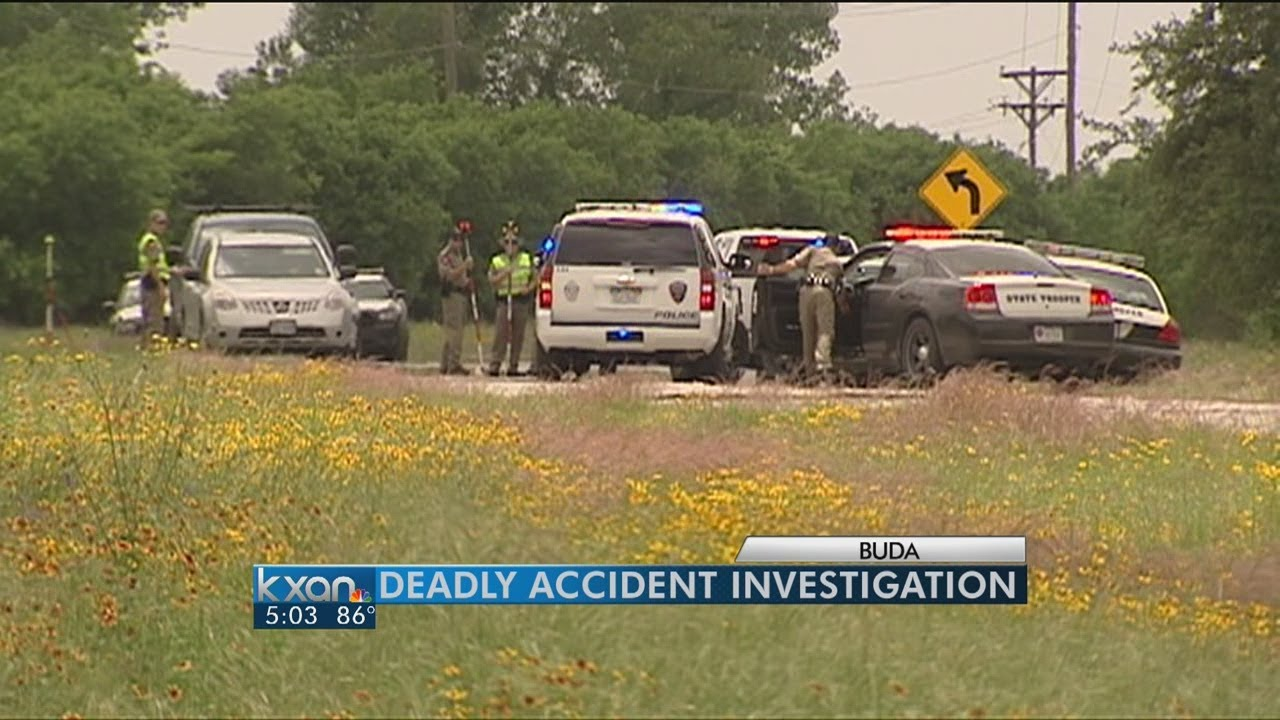 Police investigate deadly accident in Buda