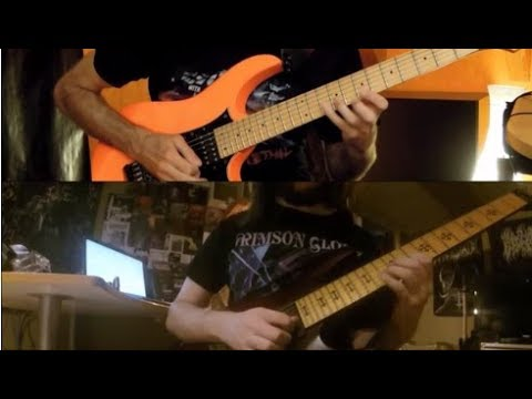 Guitar showcases : Christian Muenzner & Phil Tougas demonstrate new Eternity's End material