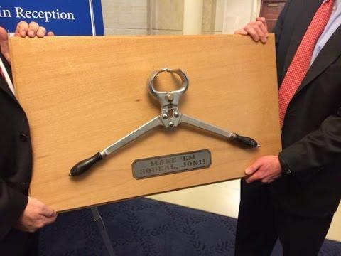 Senators Are Passing Out Pig Castration Devices
