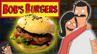 How to Make BOBS BURGERS - BET IT ALL ON BLACK! Feast of Fiction S6 Ep2