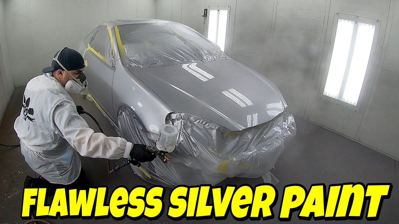 Car Painting: How to Spray and Blend Silver Metallic Paint