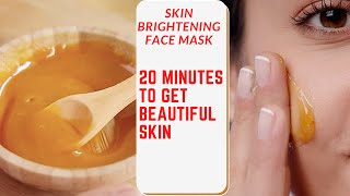Skin Brightening Face Mask That Takes Only 20 Minutes To work