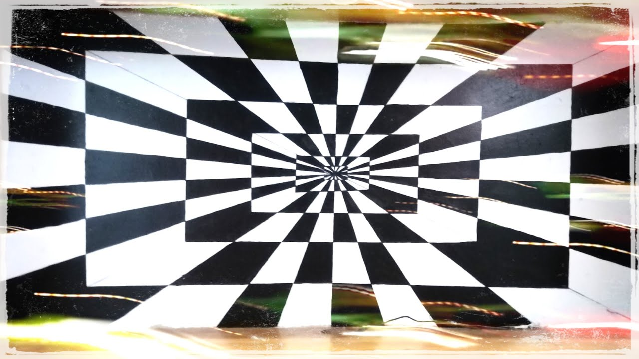 Optical illusion 3d wallart / 3d wallart design / DIY wall decor