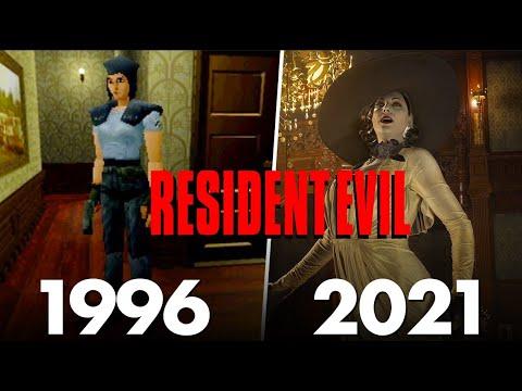 Download RESIDENT EVIL : Evolution de la saga de 1996 à 2021 (37 JEUX) ! 🔥