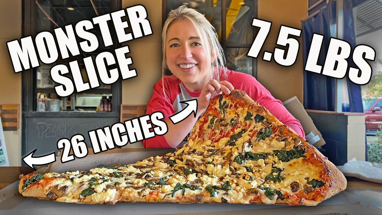 7.5LB MONSTER SLICE PIZZA CHALLENGE