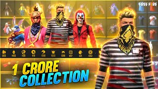 TOTAL 1 CRORE COLLECTION - FREE FIRE
